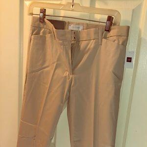 Gap Size 2 Slim Cropped Khaki Pants NWT
